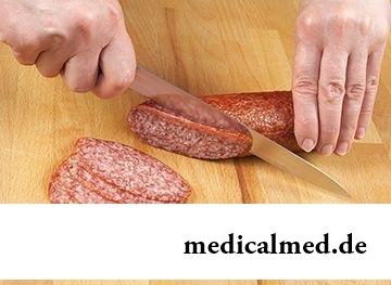 Калорийность Докторской колбасы в 100 г – 257 ккал