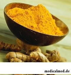 Куркумин - природный краситель насыщенно-желтого цвета