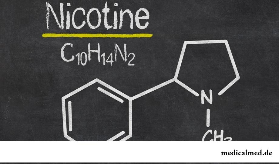 Никотин - действие, влияние, отравление