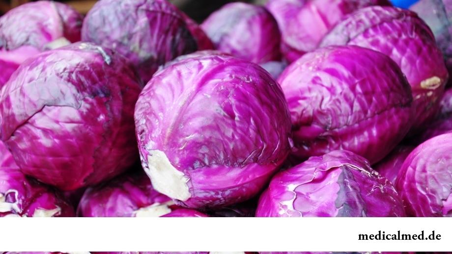 Польза синих и фиолетовых овощей и фруктов