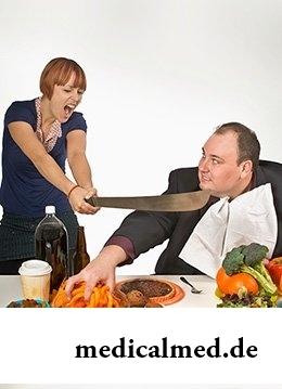 Опасные симптомы переедания