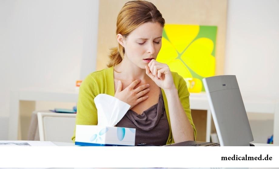 Первые симптомы туберкулеза