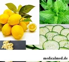 Вода Сасси для похудения - напиток на основе огурцов, лимона, мяты и имбиря