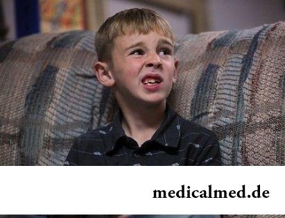 Синдром Туретта у ребенка