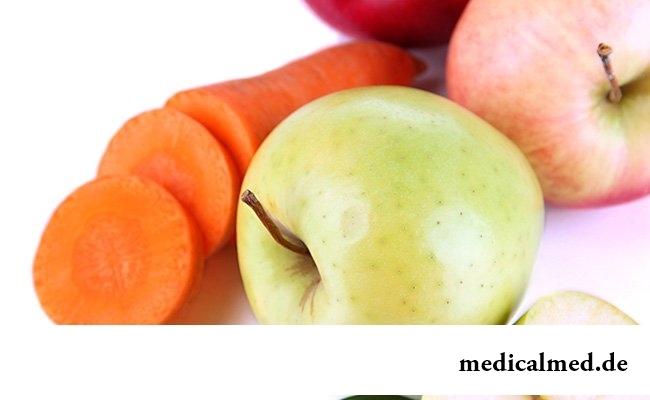 Жесткие фрукты и овощи
