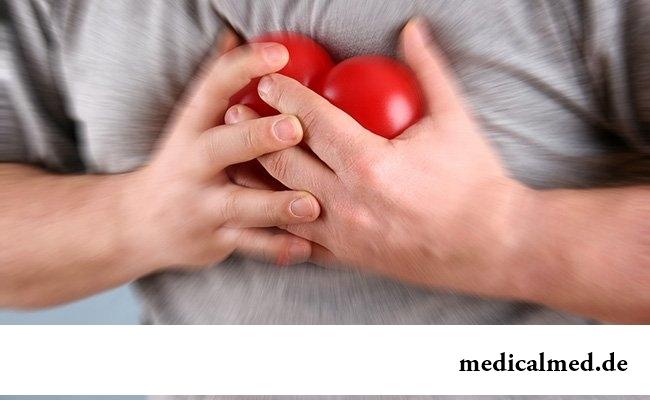 Сердечная недостаточность, инфаркт