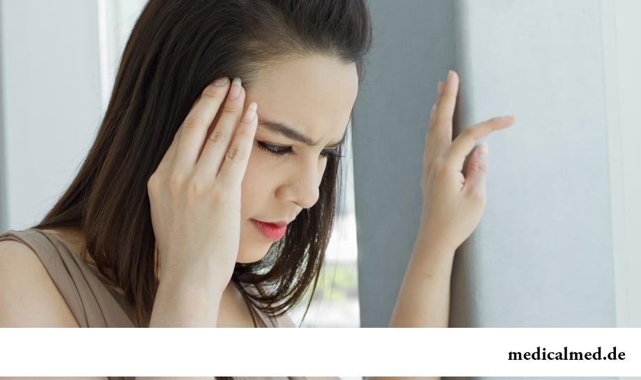 Головокружение - один из возможных симптомов тромбоза глубоких вен