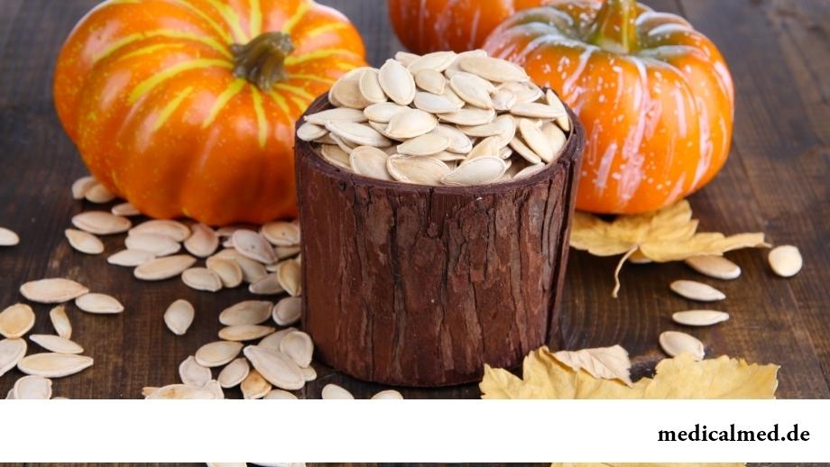 Семена тыквы - источник миртиллина