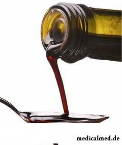 Винный уксус получают из винограда