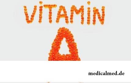 Витамин A - действие, показания, недостаток