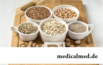 Витамин B1 - в продуктах, недостаток, биологическая роль