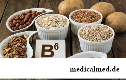 Витамин B6 - в продуктах, избыток и недостаток