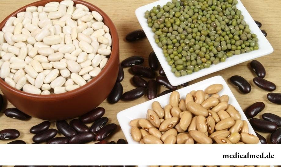 Витамин B8 в продуктах растительного происхождения