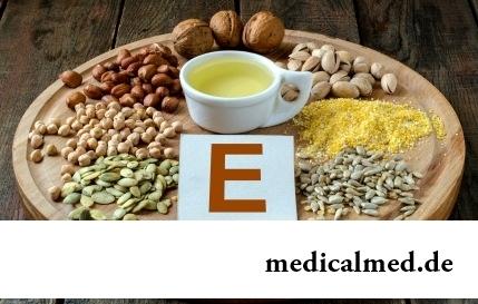 Витамин E - недостаток, взаимодействие, дозировка