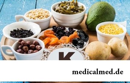 Витамин K - роль, недостаток, суточная потребность