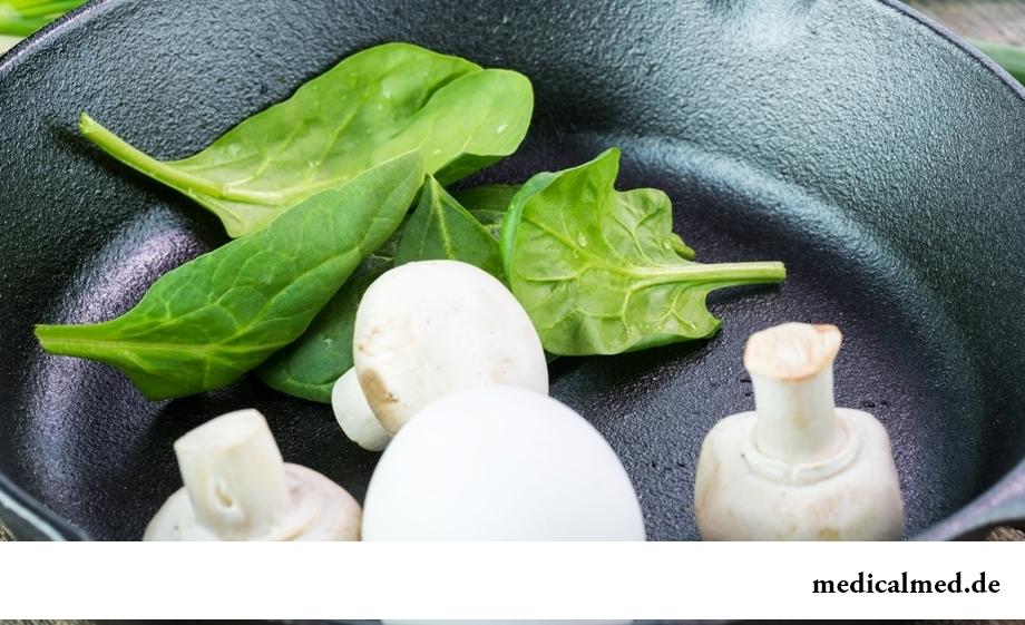 Содержание витамина N в продуктах